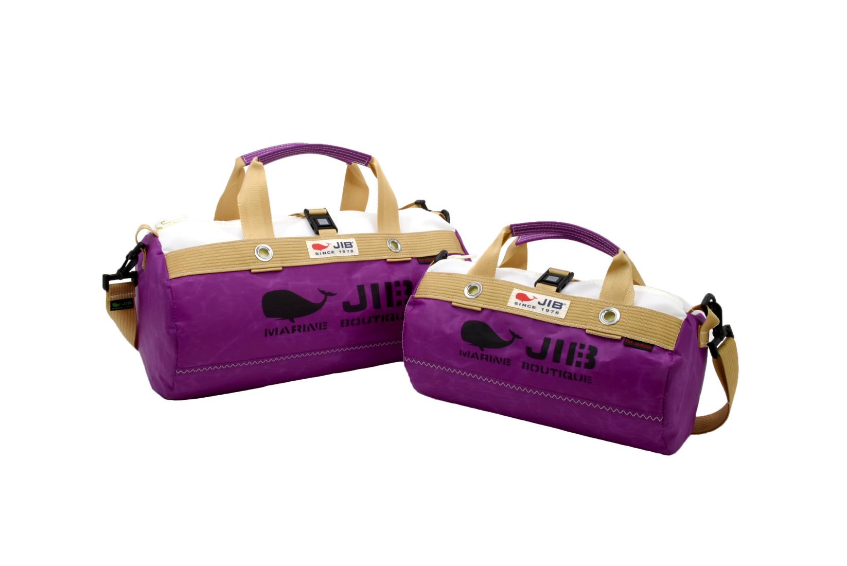 Sparkling Plum●Border Duffle Bag