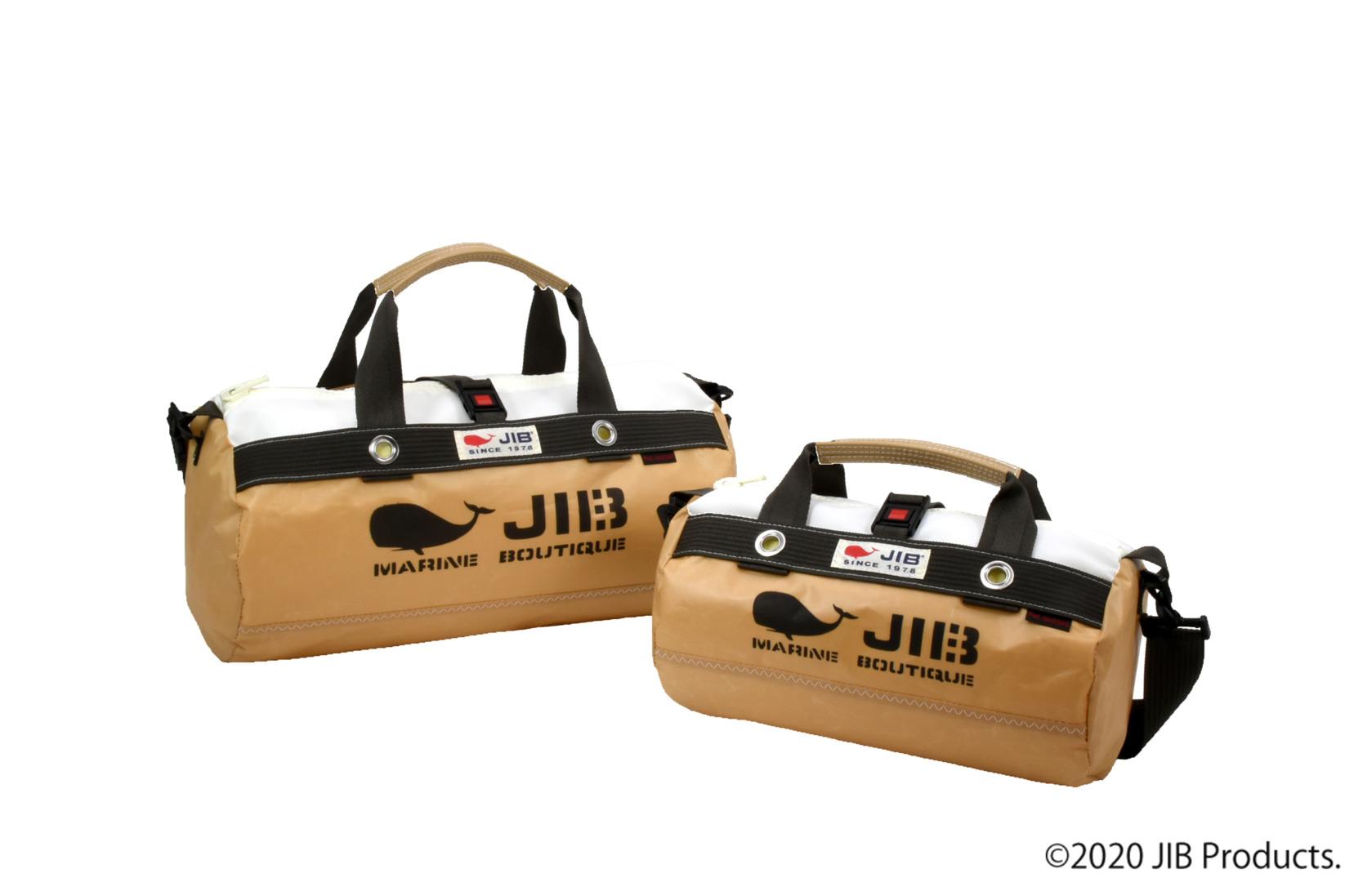 Special Khaki Brown●Border Duffle Bag