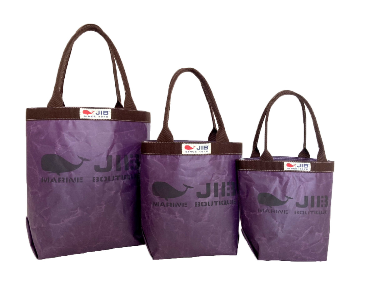 Deep Purple●Baketsu Tote Bag