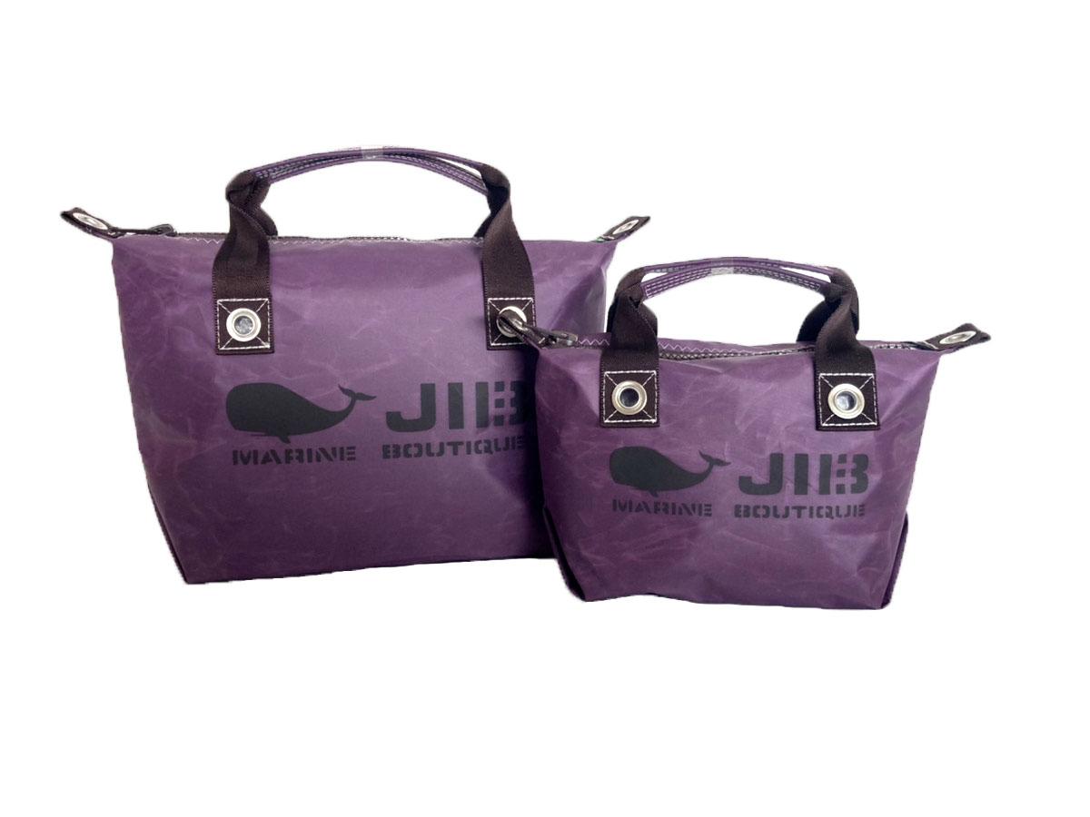 Deep Purple●Fastener Tote Bag