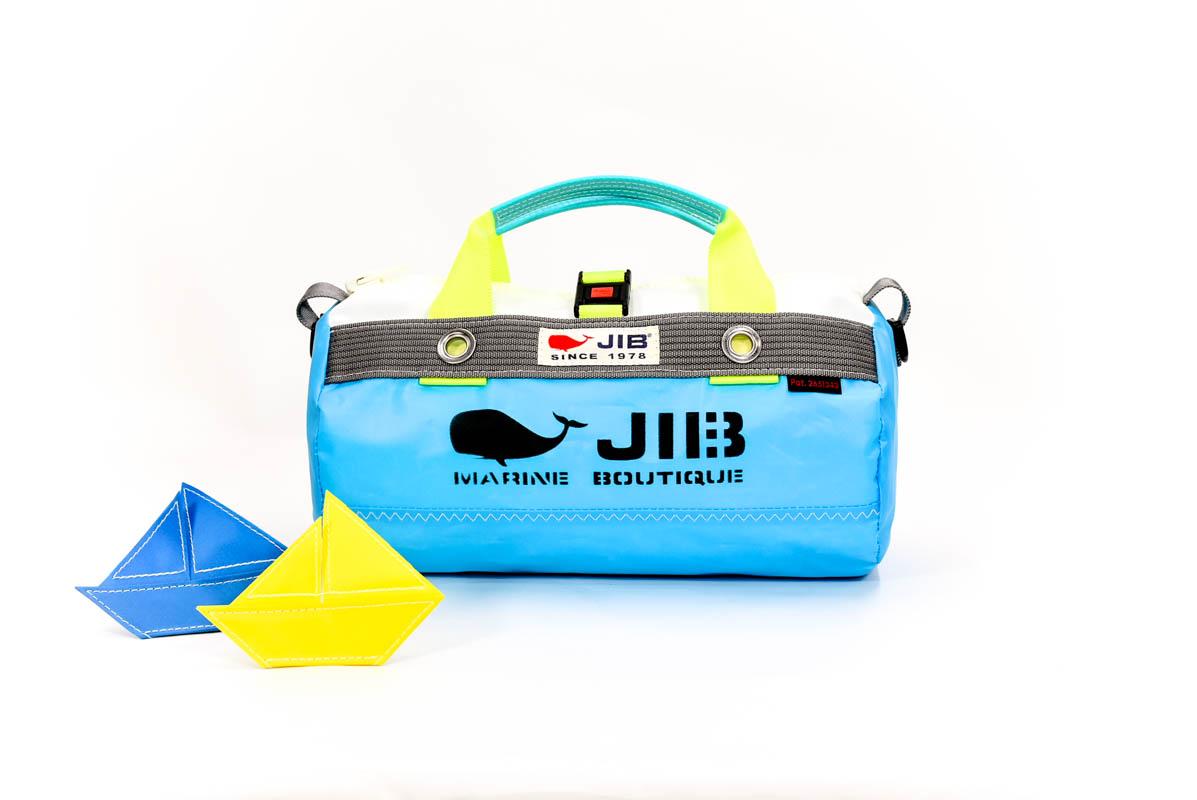 Neon Fish Series●Border Duffle Bag