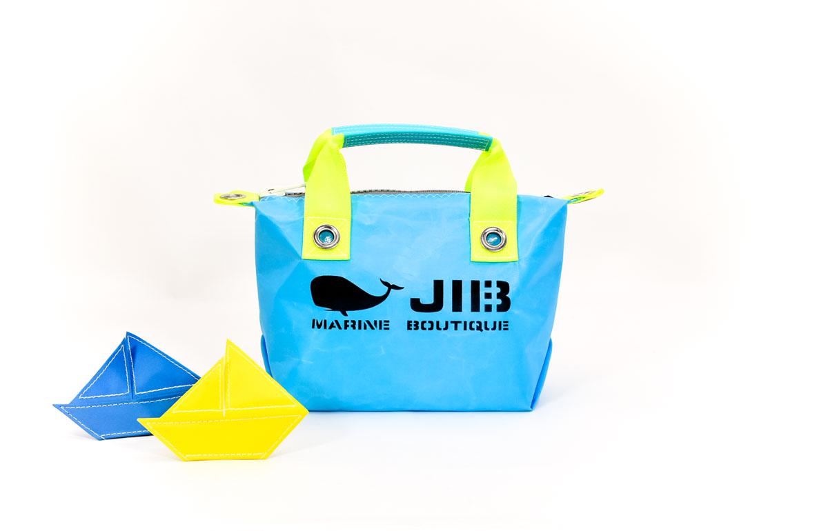 Neon Fish Series●Fastener Tote Bag
